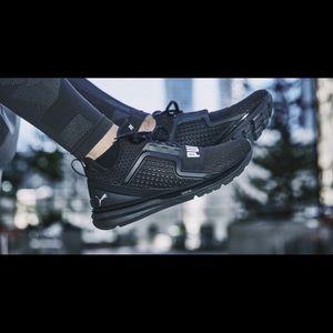 PUMA ignite limitless black sneaker